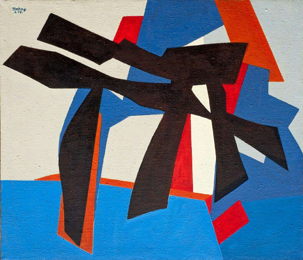 René Roche 'Composition' 1975