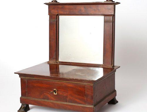 Mahogany Table MirrorEmpire Period620€