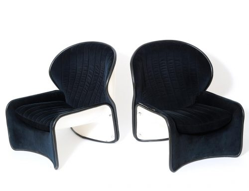 Pair of armchairs 'Lotus' byAndré Vandenbeuck3200€