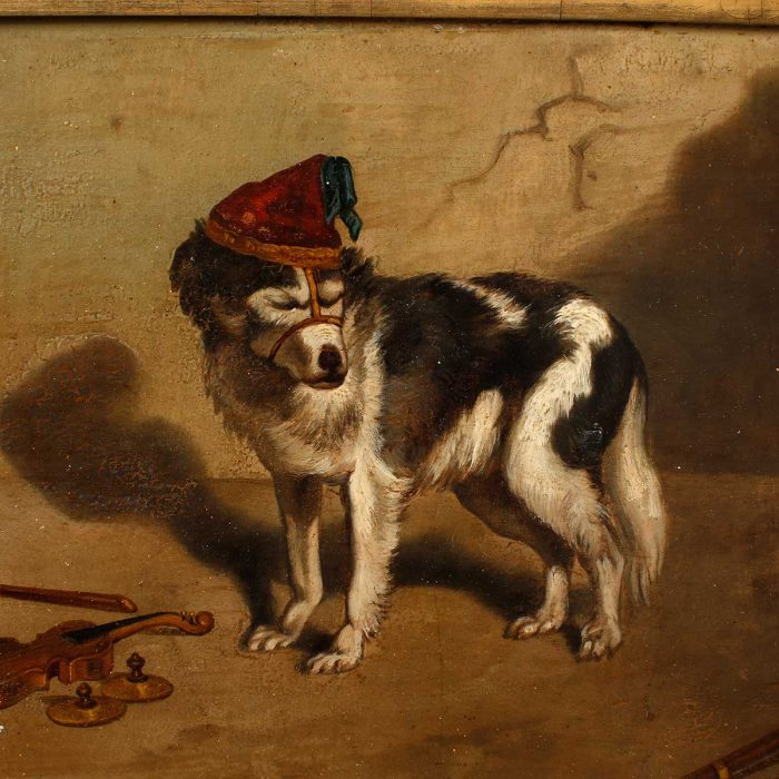 painting of dog