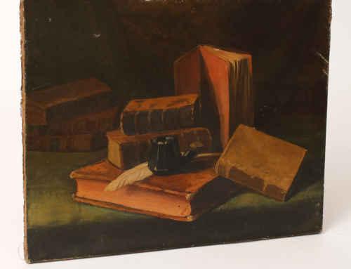 Still Life Books19th centurySOLD